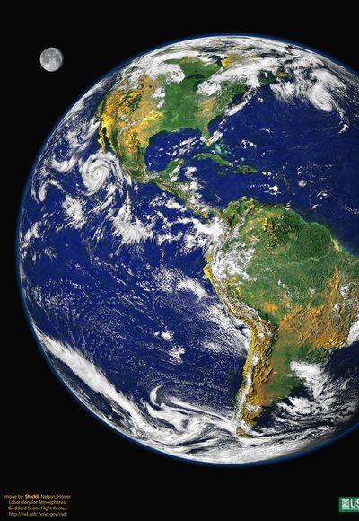 Warum dreht sich die Erde?