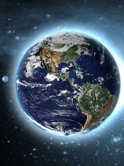 Klebt Luft an der Erde?