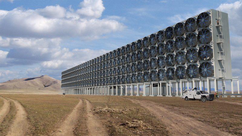Kann man Kohlendioxid aus der Luft filtern?