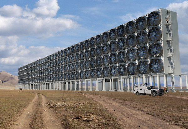 Kann man CO2 filtern?