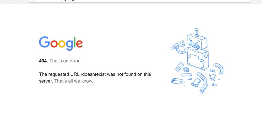Der Computerfehler »404« – was ist das?