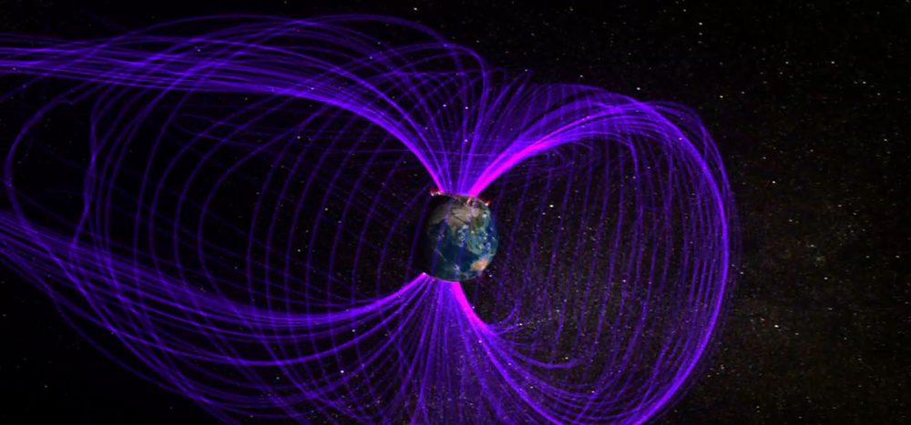 Wer baut das Magnetfeld der Erde nach?
