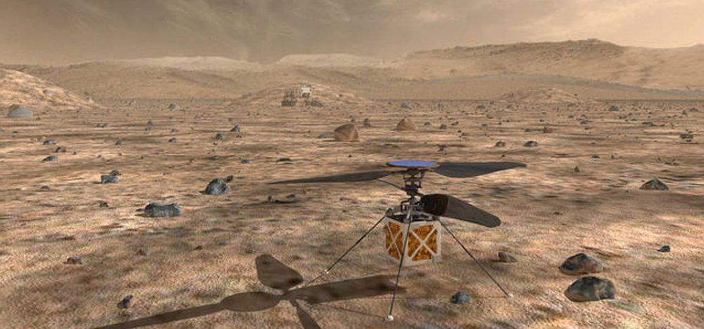 Wie bekommt man Marsgestein auf die Erde – ohne Menschen?