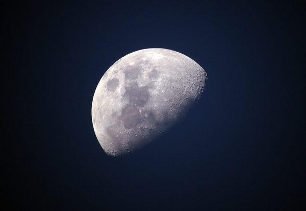 Grundstück auf dem Mond
