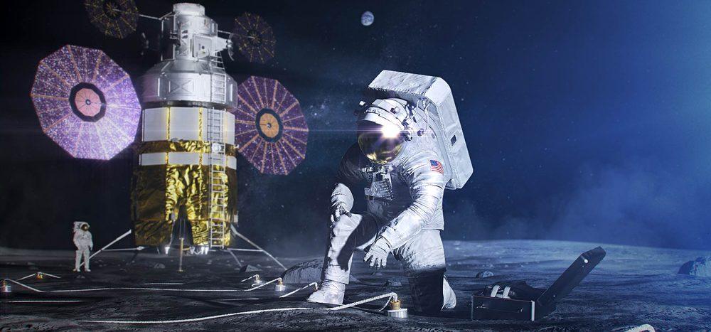 Wie landet man auf dem Mond?