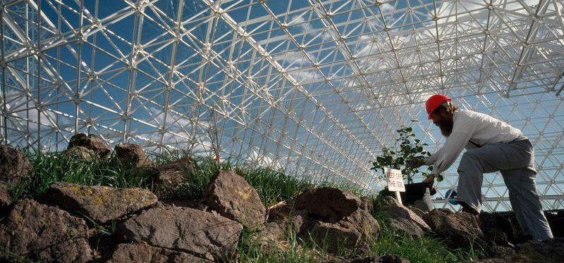 Was wurde aus dem futuristischen Projekt Biosphäre 2?