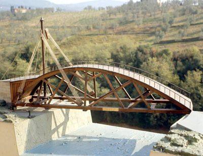 Was ist die Leonardobrücke?