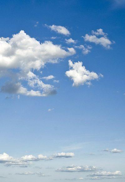 Steckt in Wolken Leben?