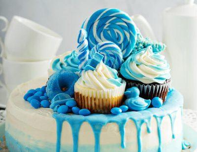 Unbeliebte blaue Speisen