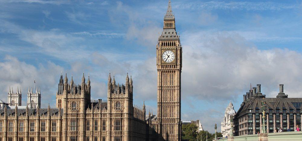 """Ein berühmtes Gebäude von London heißt """"Big Ben"""""""