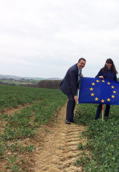 Wo ist der EU-Mittelpunkt?