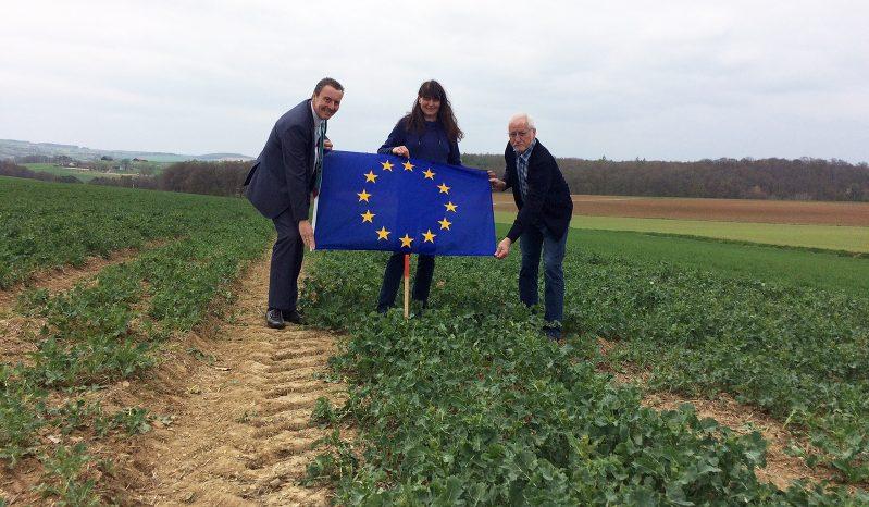 Wo liegt der EU-Mittelpunkt?