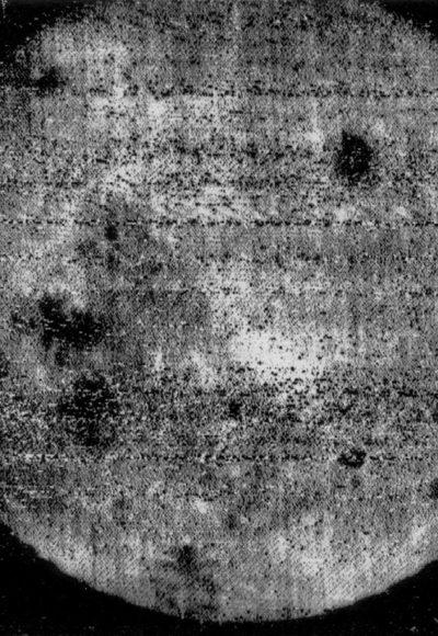 Foto von der Mondrückseite
