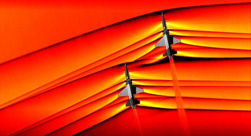 Kann ein Pilot in einem Überschallflugzeug Musik hören?