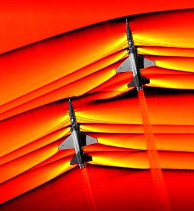 Musik im Überschallflugzeug