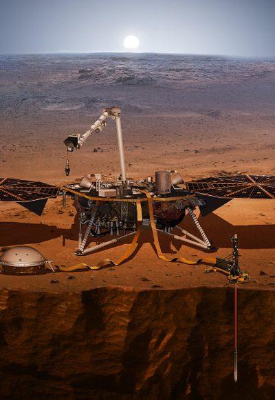 Wie entstehen Marsbeben?