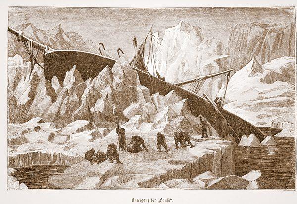 Gefangen im ewigen Eis
