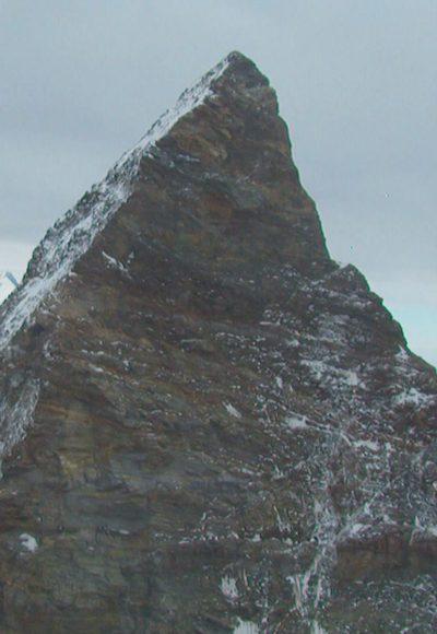 Grund für steile Nordwände