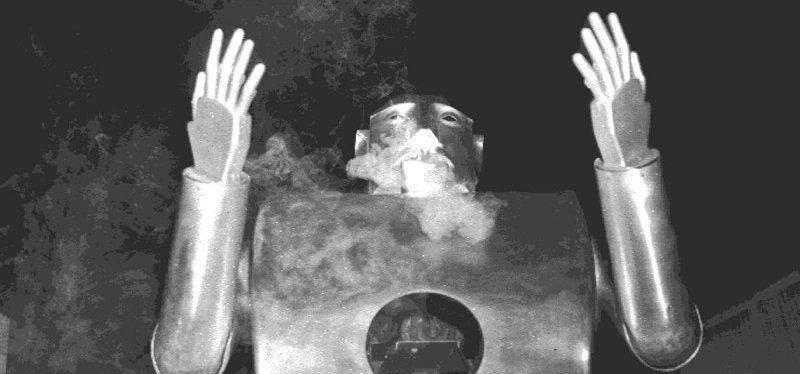 Welcher Roboter rauchte Zigarette?