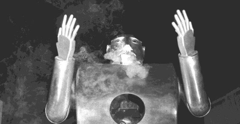 Welcher Roboter rauchte?