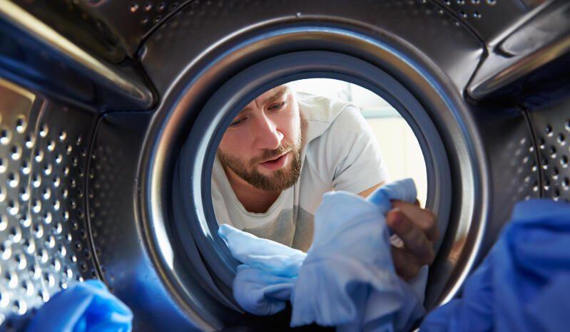 Wo tummeln sich in der Waschmaschine Keime?