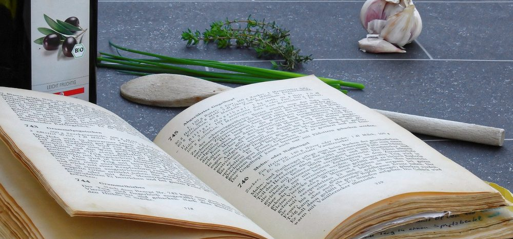 Seit wann gibt es Kochbücher?