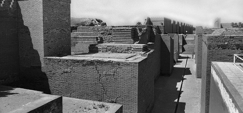 Wer entdeckte die Ruinen von Babylon?