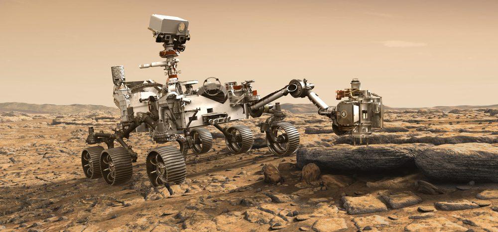 """Was macht """"Perseverance"""" auf dem Mars?"""