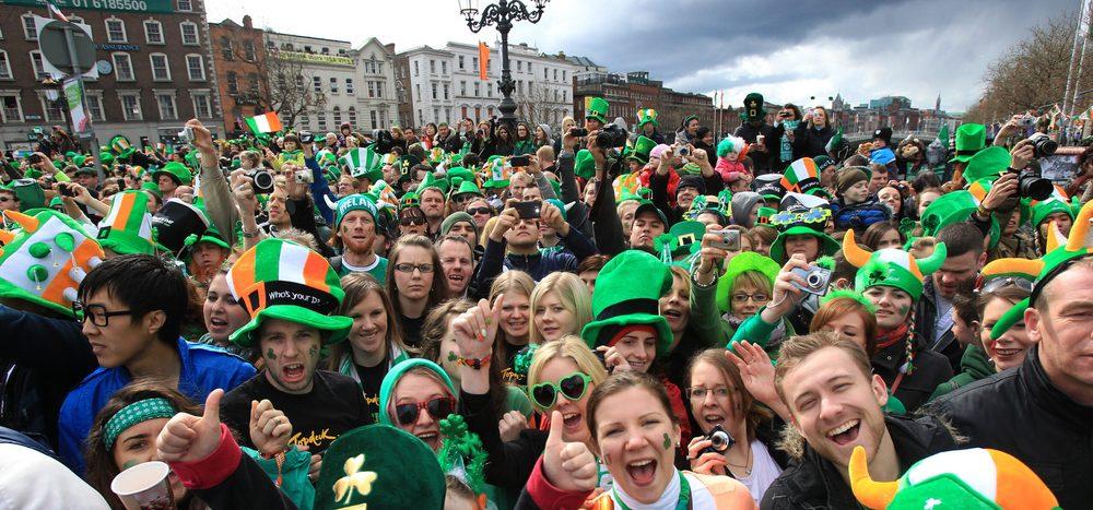 Was feiern die Iren am St. Patrick's Day?