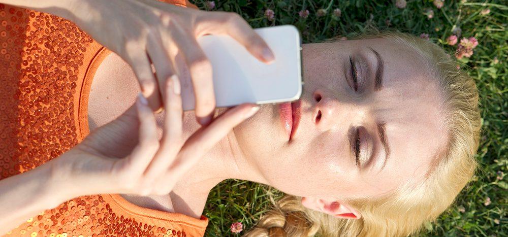 Nutzen wir unser Smartphone wie ein Beruhigungsmittel?