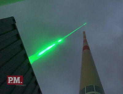 Laser als Blitzableiter?