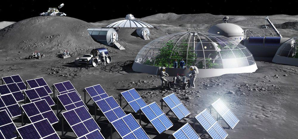 Schätze auf dem Mond