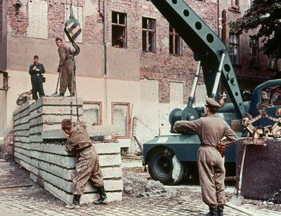 DDR: Der Mauerbau 1961