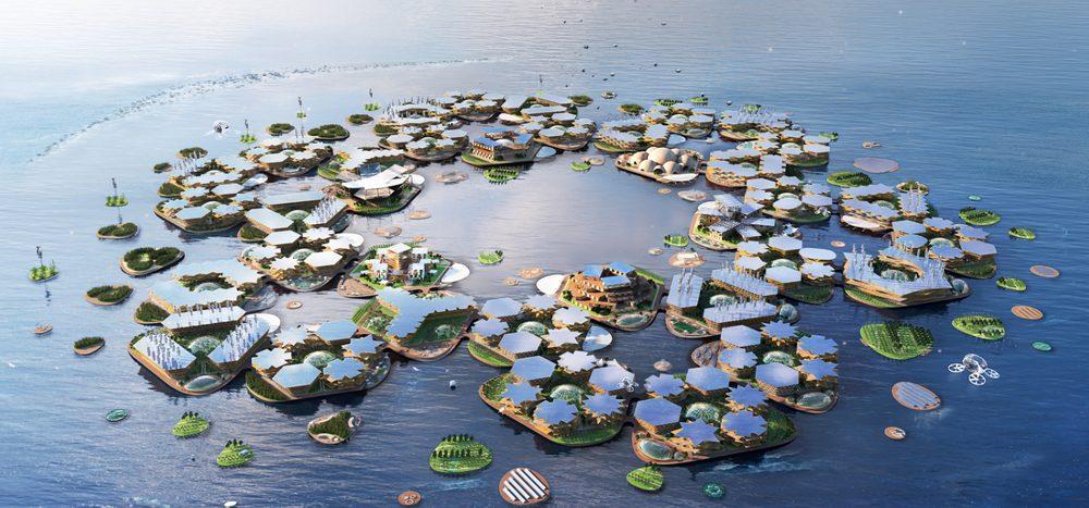 Schwimmt die Stadt der Zukunft auf dem Wasser?