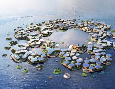 Maritime Stadt der Zukunft?