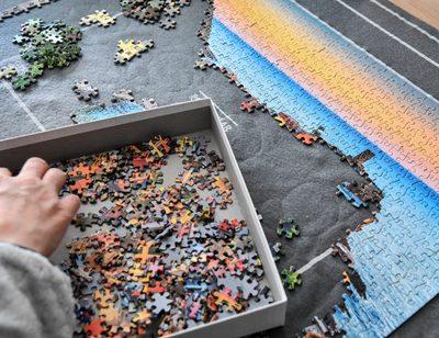 Geschichte des Puzzles
